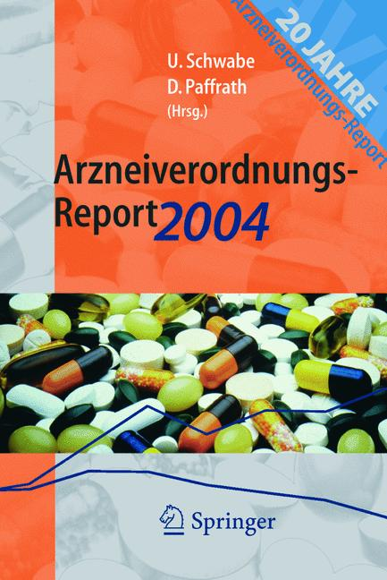 Cover of 'Arzneiverordnungs-Report 2004'