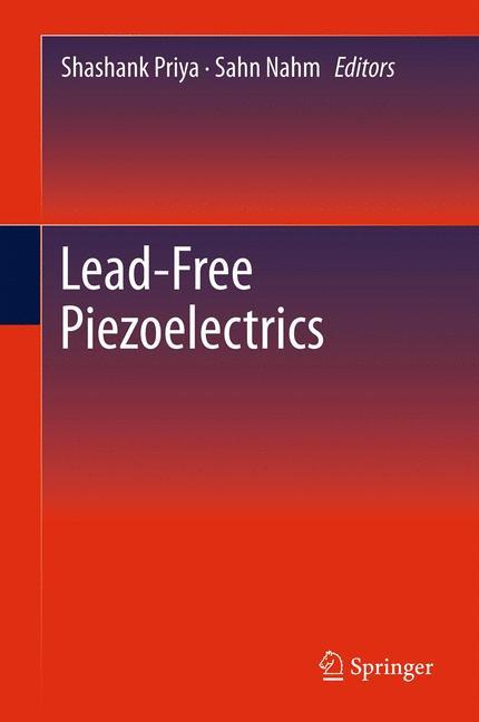 Cover of 'Lead-Free Piezoelectrics'