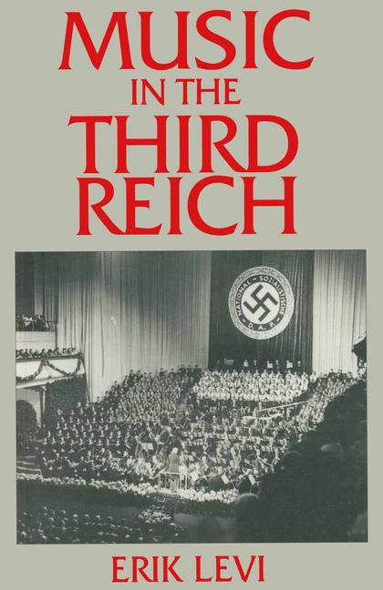 Cover of 'Music in the Third Reich'