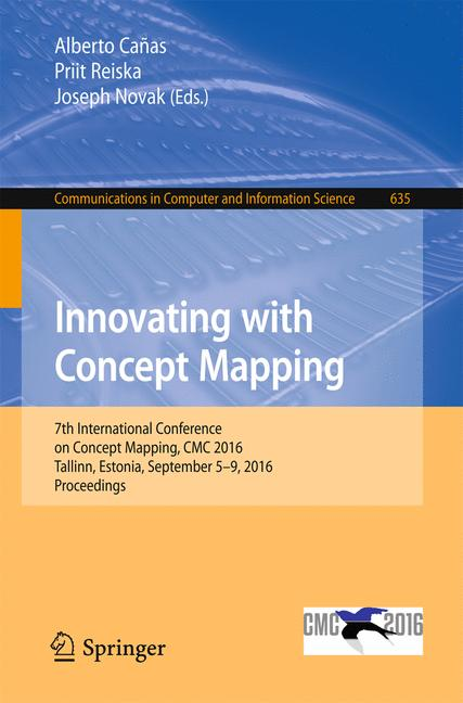 Cover of 'Innovating with Concept Mapping'