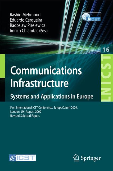 Cover of 'Communications Infrastructure, Systems and Applications'