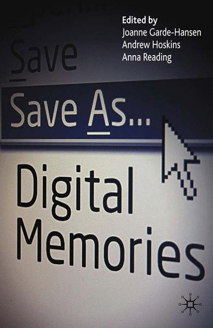 Cover of 'Save As … Digital Memories'