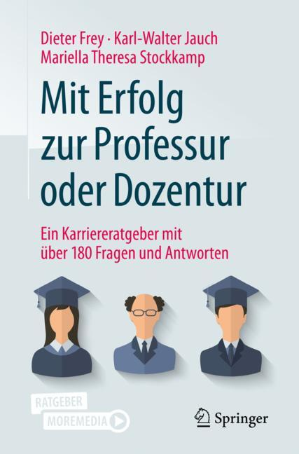 Cover of 'Mit Erfolg zur Professur oder Dozentur'