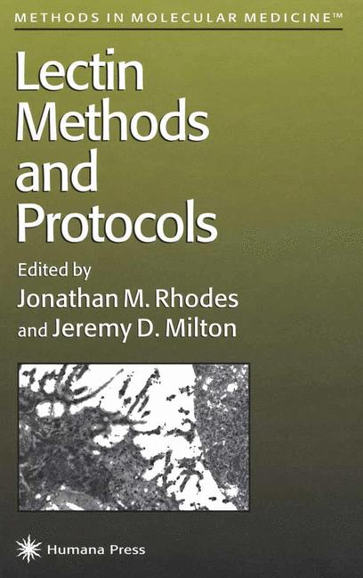 Cover of 'Lectin Methods and Protocols'
