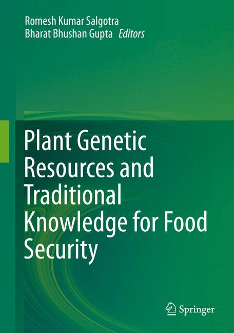 Cover of 'Plant Genetic Resources and Traditional Knowledge for Food Security'