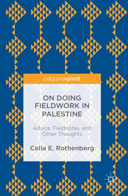 Cover of 'On Doing Fieldwork in Palestine'
