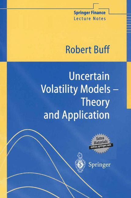 Cover of 'Uncertain Volatility Models — Theory and Application'