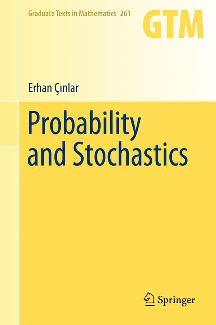 Cover of 'Probability and Stochastics'
