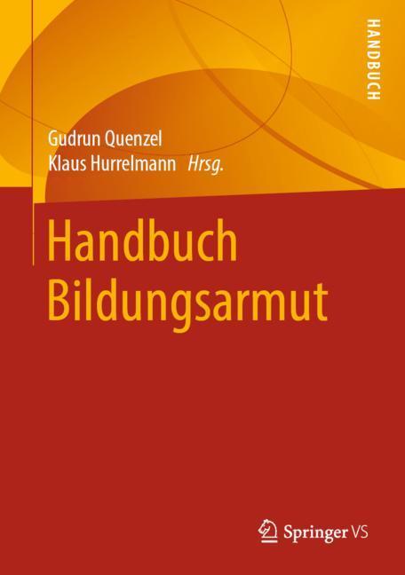 Cover of 'Handbuch Bildungsarmut'