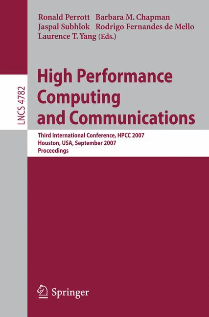 Cover of 'High Performance Computing and Communications'