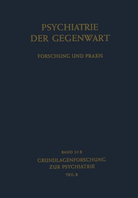 Cover of 'Grundlagenforschung zur Psychiatrie'