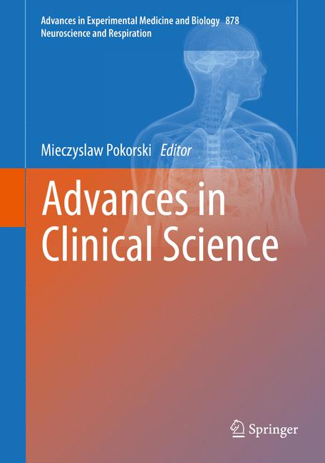 Cover of 'Advances in Clinical Science'