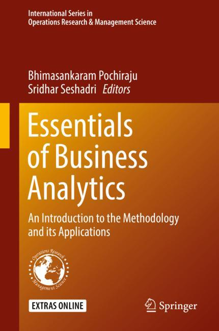 Cover of 'Essentials of Business Analytics'