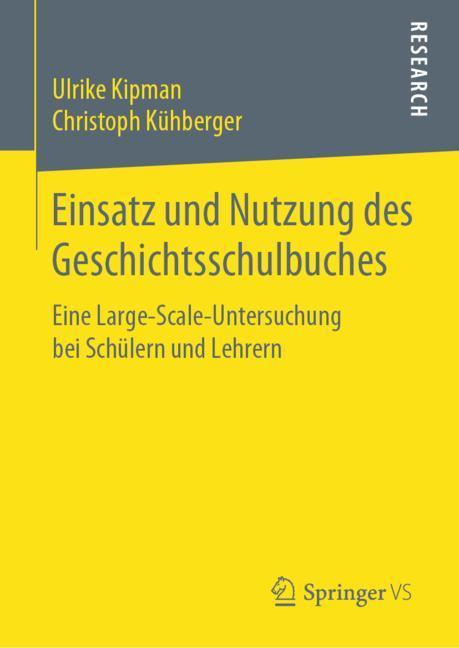 Cover of 'Einsatz und Nutzung des Geschichtsschulbuches'