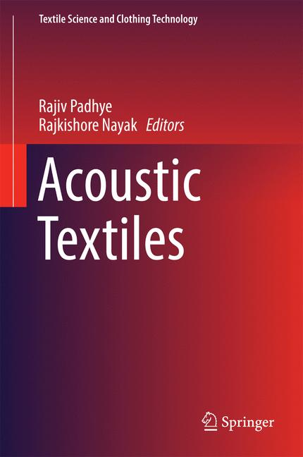 Cover of 'Acoustic Textiles'
