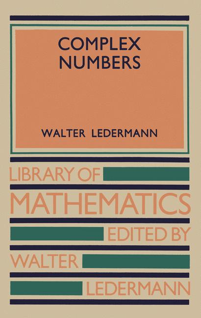 Cover of 'Complex Numbers'