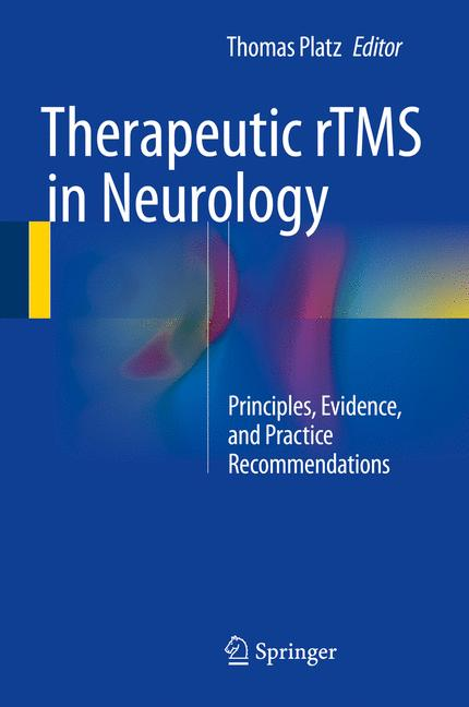 Cover of 'Therapeutic rTMS in Neurology'
