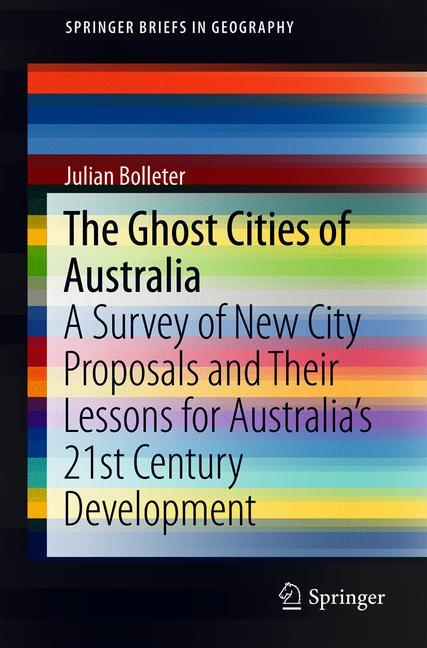 Cover of 'The Ghost Cities of Australia'