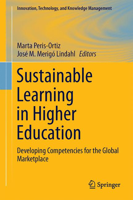 Cover of 'Sustainable Learning in Higher Education'