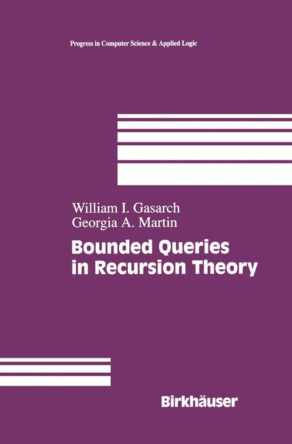 Cover of 'Bounded Queries in Recursion Theory'