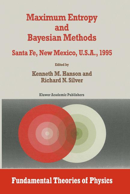 Cover of 'Maximum Entropy and Bayesian Methods'