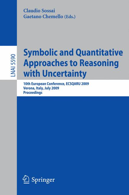 Cover of 'Symbolic and Quantitative Approaches to Reasoning with Uncertainty'