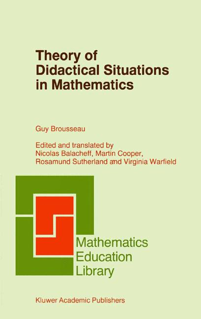 Cover of 'Theory of Didactical Situations in Mathematics'