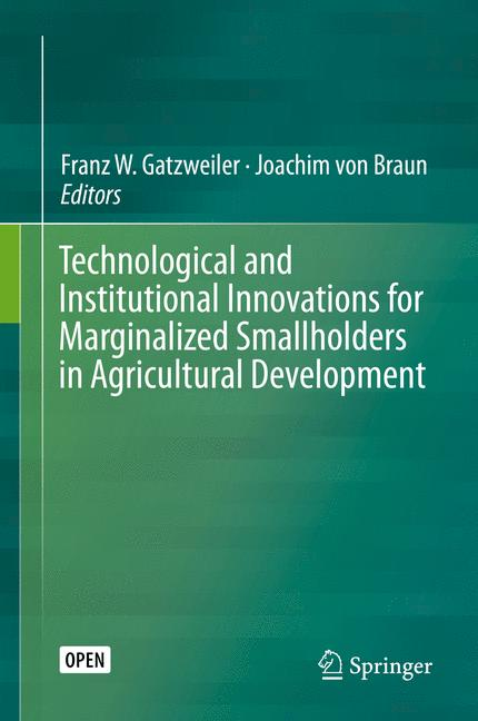 Cover of 'Technological and Institutional Innovations for Marginalized Smallholders in Agricultural Development'