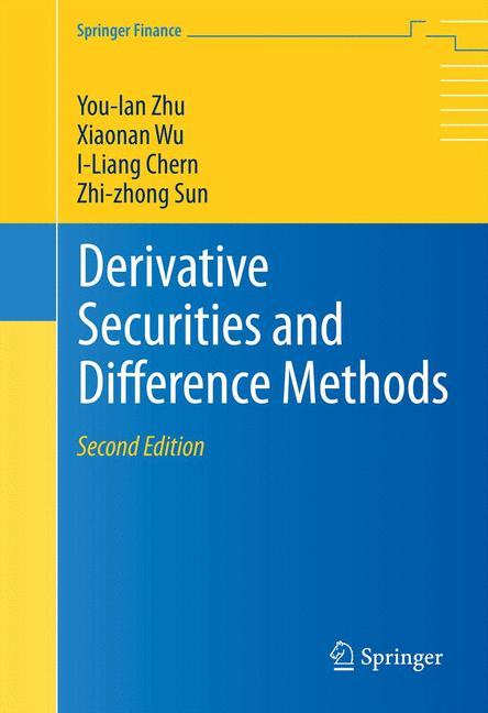 Cover of 'Derivative Securities and Difference Methods'