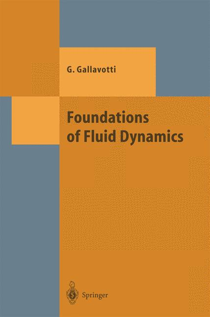 Cover of 'Foundations of Fluid Dynamics'