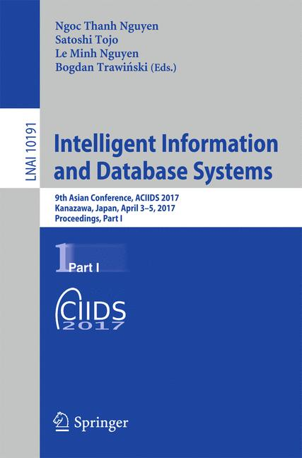 Cover of 'Intelligent Information and Database Systems'