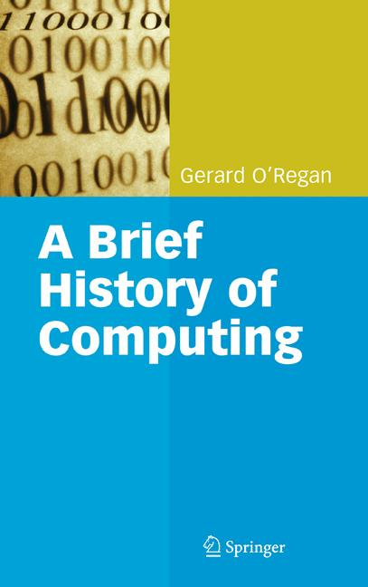 Cover of 'A Brief History of Computing'