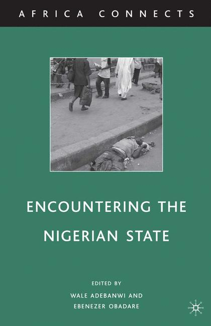 Cover of 'Encountering the Nigerian State'