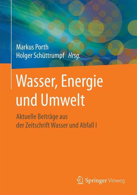 Cover of 'Wasser, Energie und Umwelt'