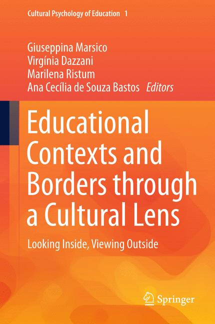 Cover of 'Educational Contexts and Borders through a Cultural Lens'