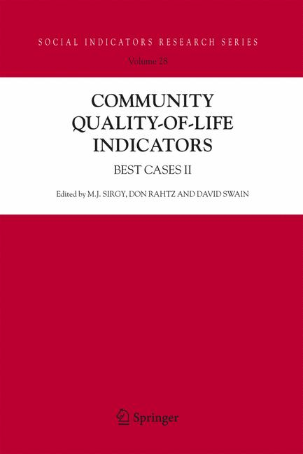 Cover of 'Community Quality-of-Life Indicators'