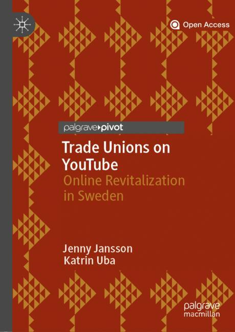 Cover of 'Trade Unions on YouTube'