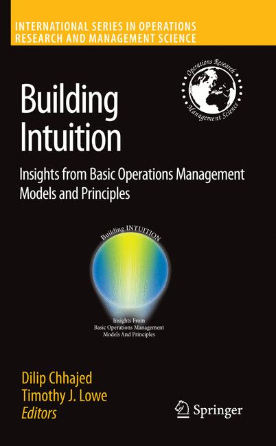 Cover of 'Building Intuition'