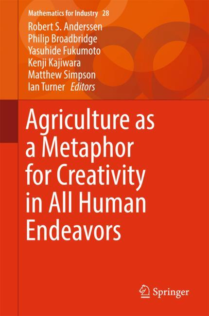 Cover of 'Agriculture as a Metaphor for Creativity in All Human Endeavors'