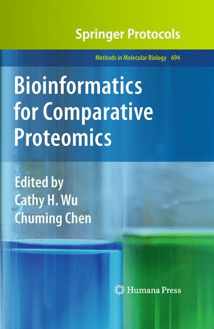 Cover of 'Bioinformatics for Comparative Proteomics'