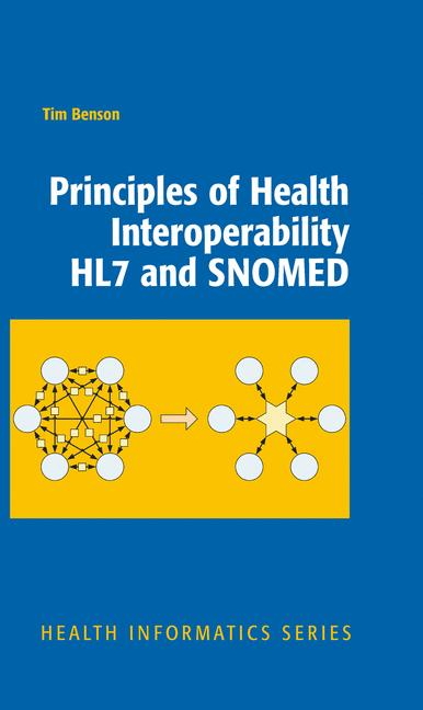 Cover of 'Principles of Health Interoperability HL7 and SNOMED'