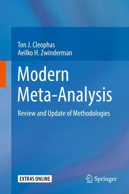 Cover of 'Modern Meta-Analysis'