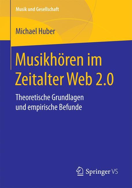 Cover of 'Musikhören im Zeitalter Web 2.0'