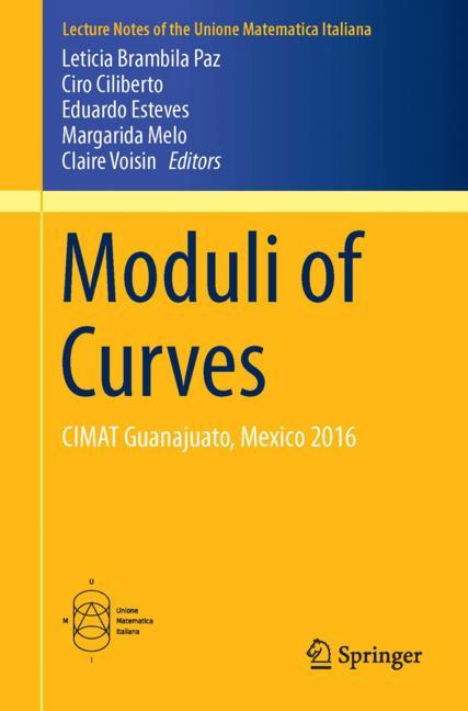 Cover of 'Moduli of Curves'
