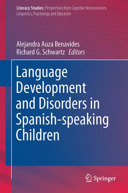 Cover of 'Language Development and Disorders in Spanish-speaking Children'