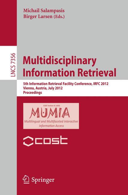 Cover of 'Multidisciplinary Information Retrieval'