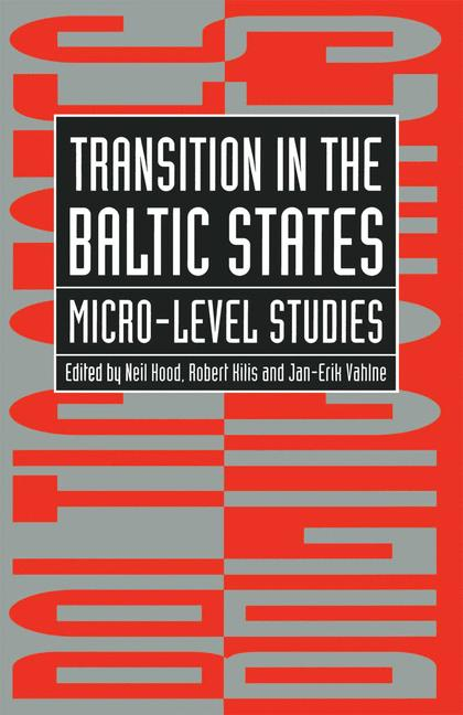 Cover of 'Transition in the Baltic States'