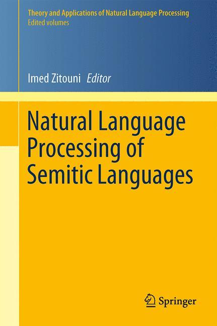Cover of 'Natural Language Processing of Semitic Languages'