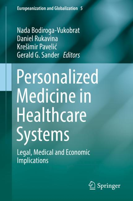 Cover of 'Personalized Medicine in Healthcare Systems'