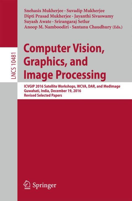 Cover of 'Computer Vision, Graphics, and Image Processing'